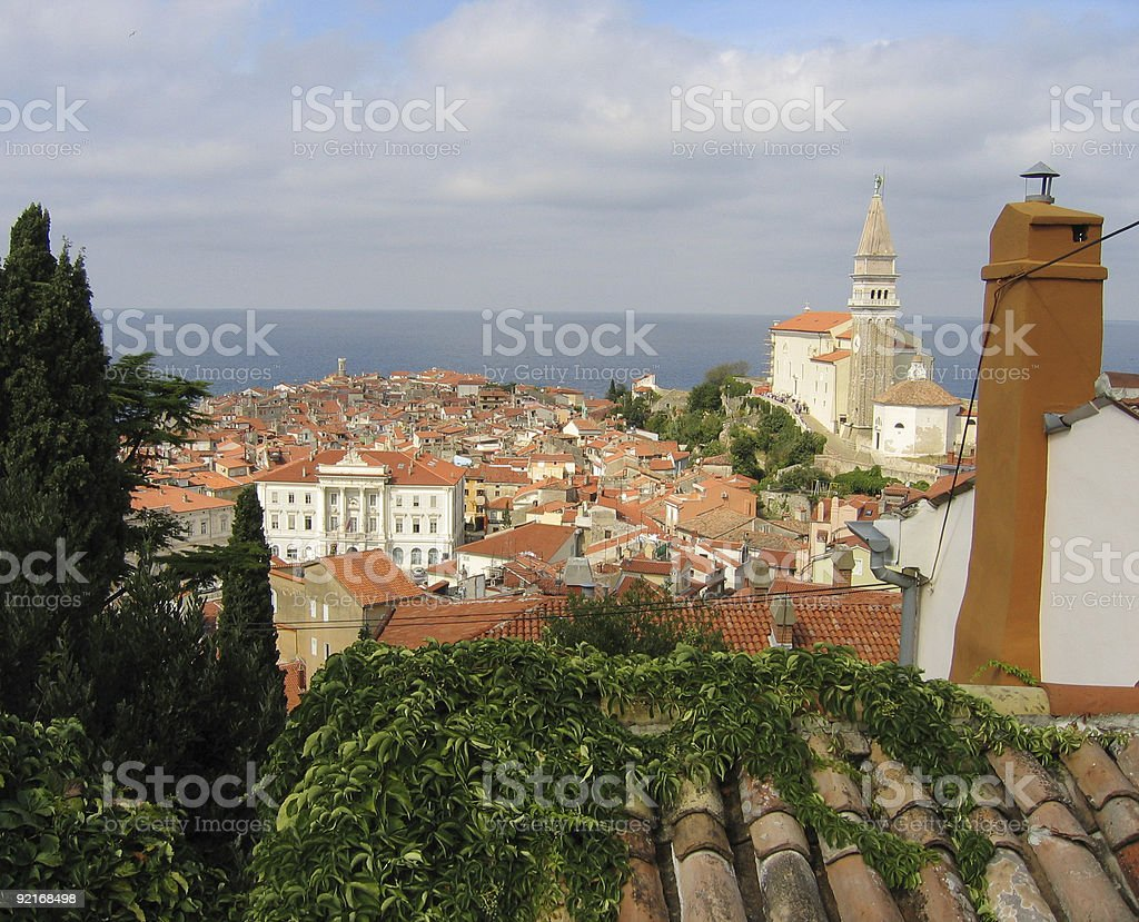 Mediterranean Roofs royalty-free stock photo
