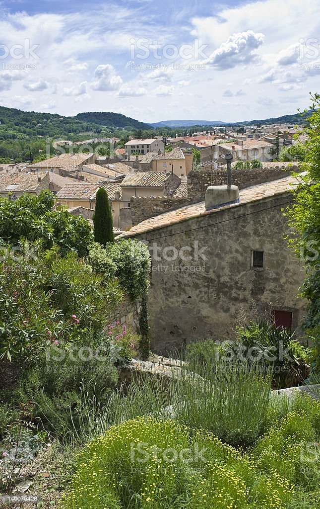 Mediterranean Rooftops stock photo