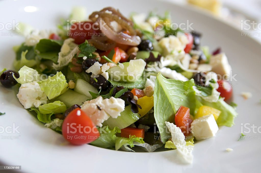 Mediterranean Salad royalty-free stock photo
