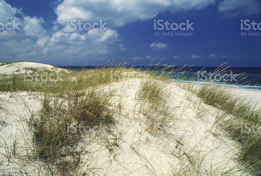 mediterranean sand dunes royalty-free stock photo