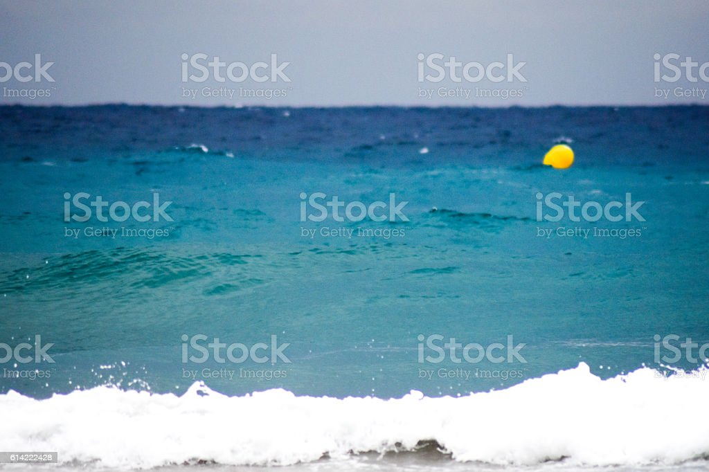 Mediterranean Sea in Autumn stock photo