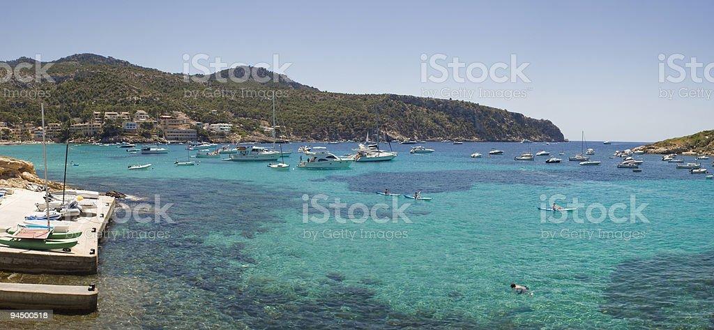 Mediterranean seas. royalty-free stock photo
