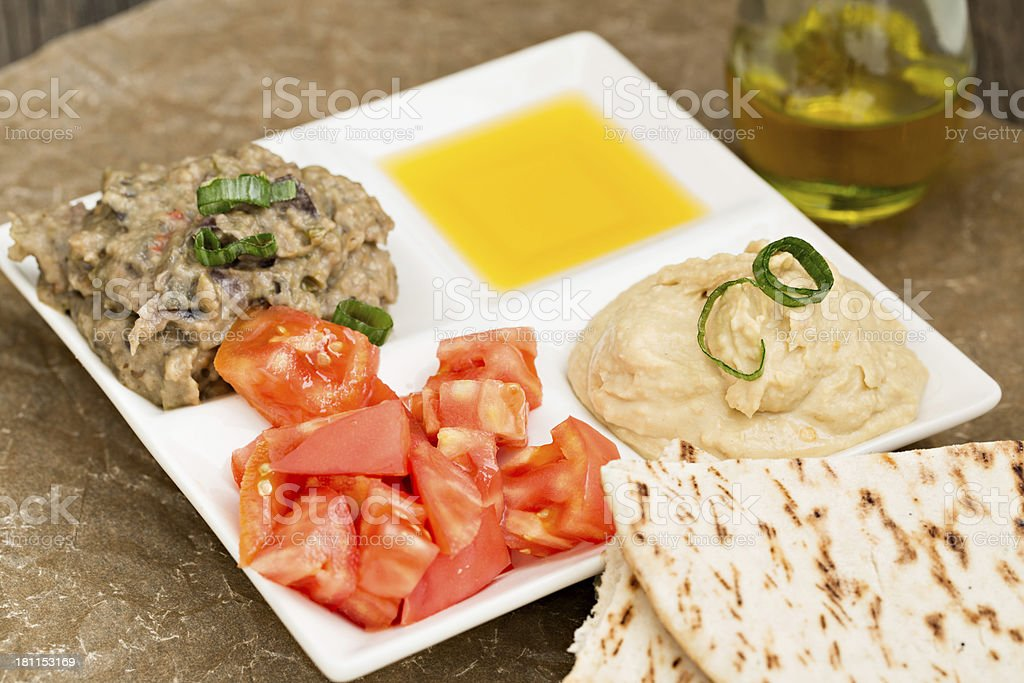 Mediterranean Snack royalty-free stock photo