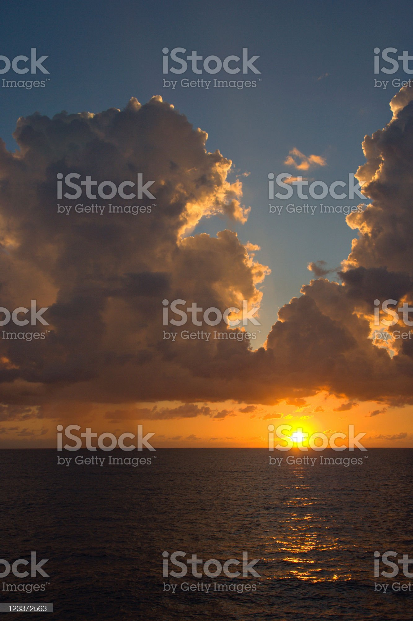 Mediterranean Sunset royalty-free stock photo