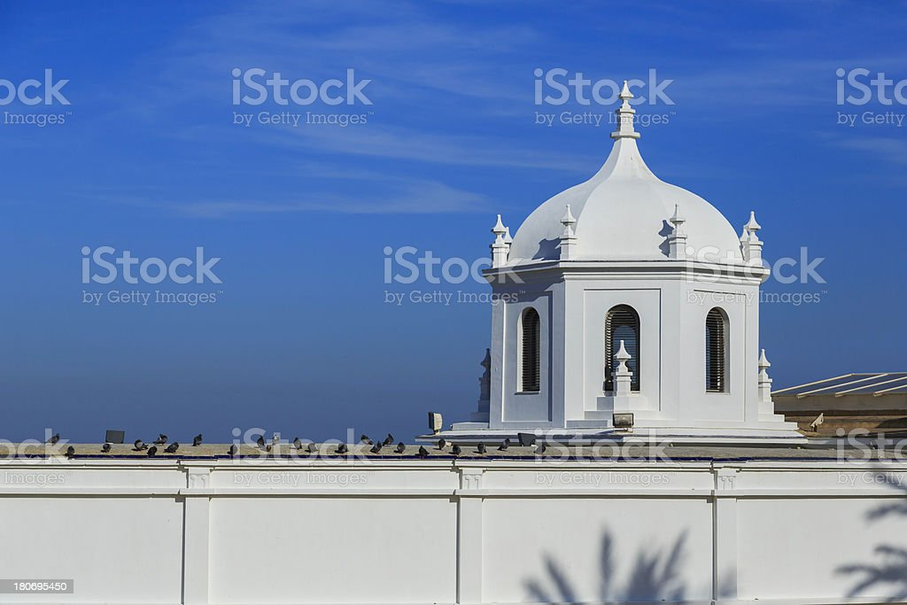 Mediterranean town royalty-free stock photo