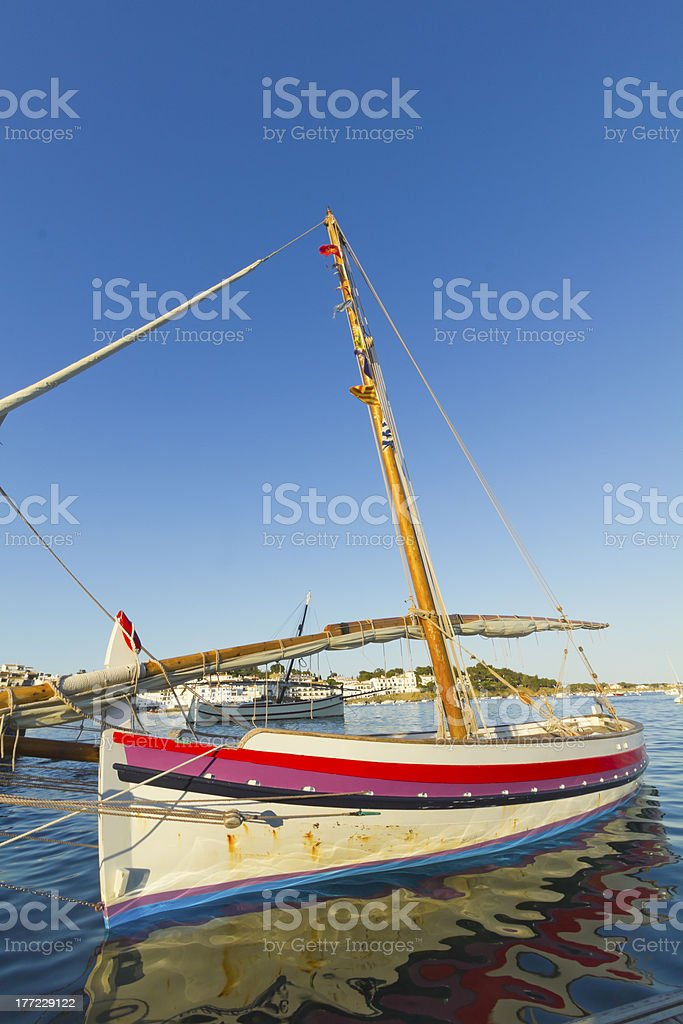 Mediterranean tranquility royalty-free stock photo