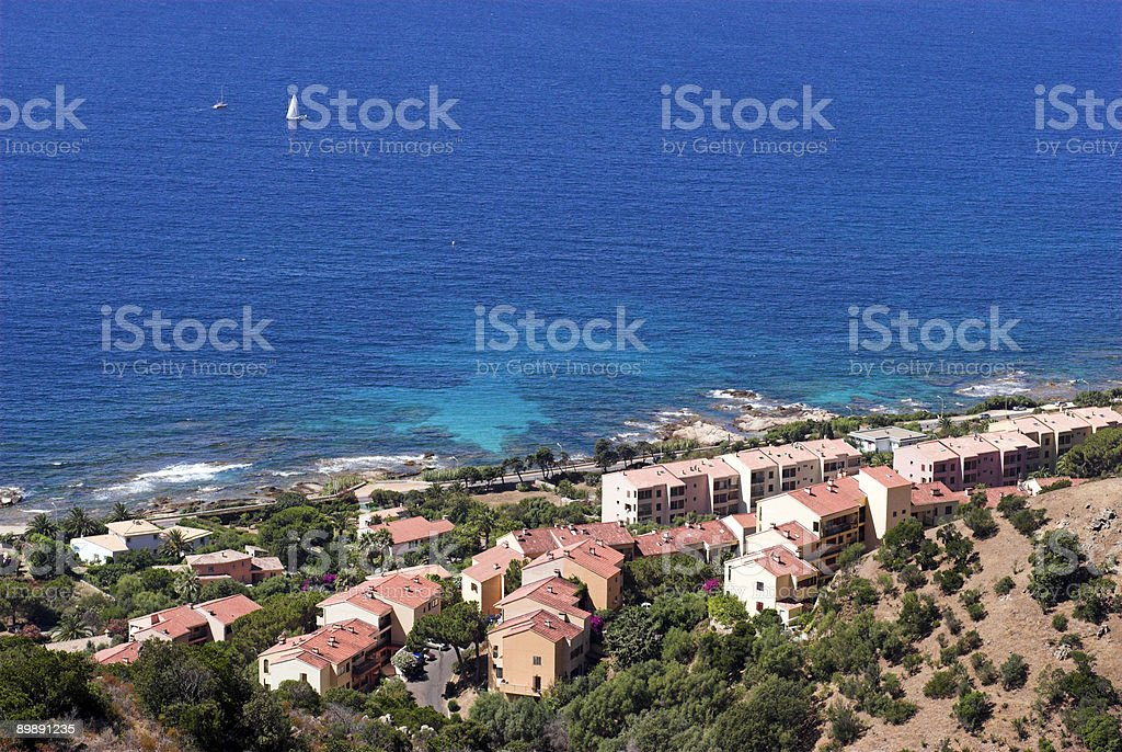 Mediterranean View royalty-free stock photo