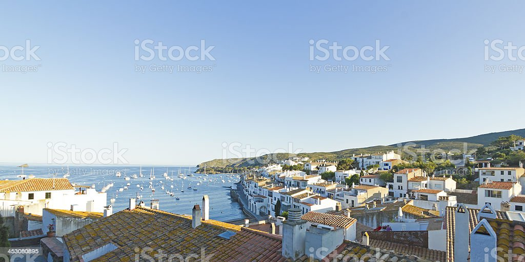Mediterranean village royalty-free stock photo