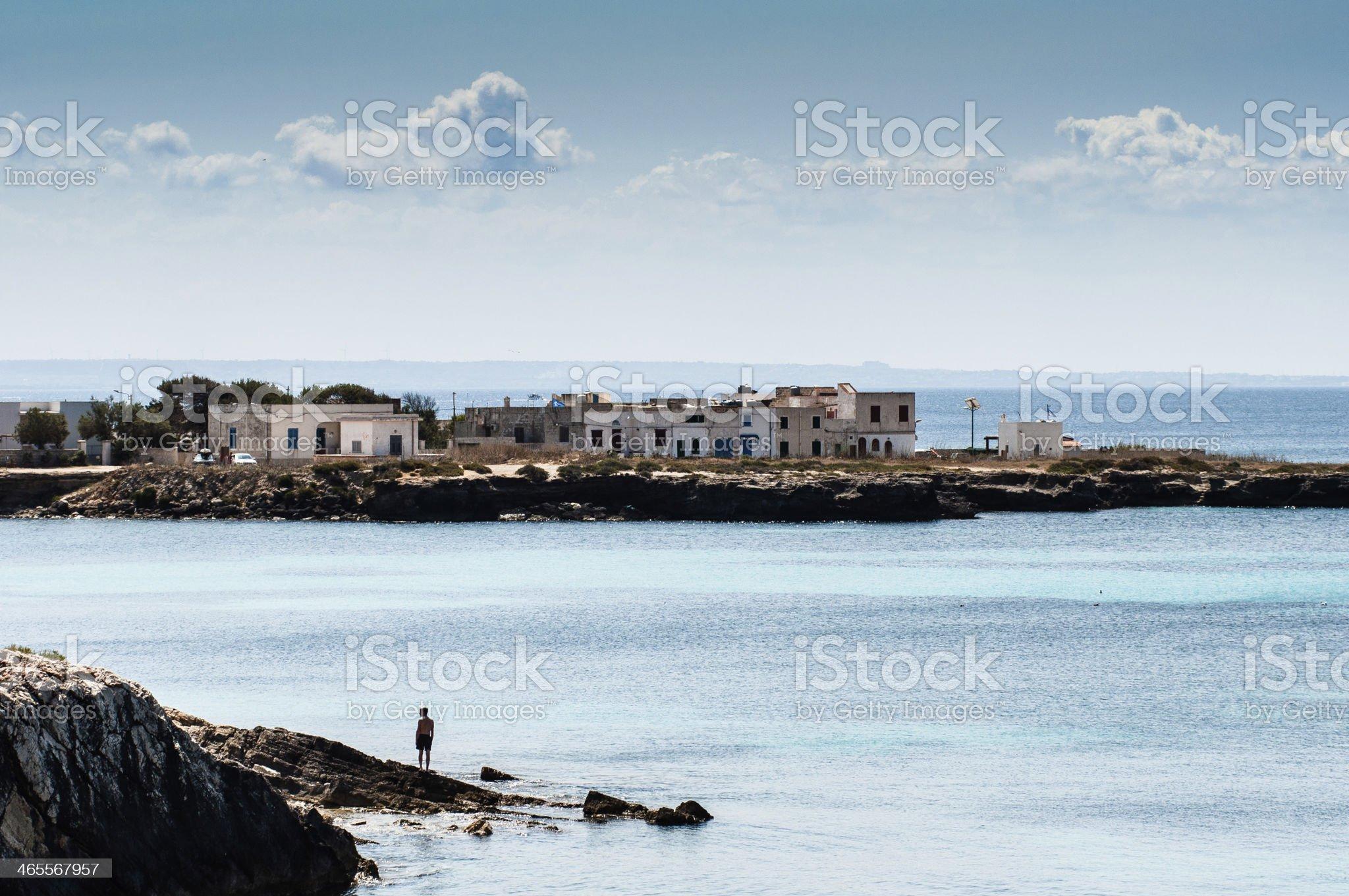 Mediterraneo  island royalty-free stock photo
