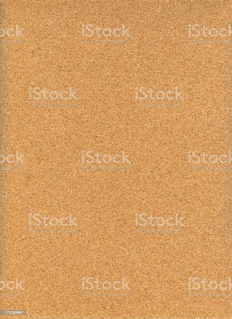 Medium brown cork vertical background stock photo