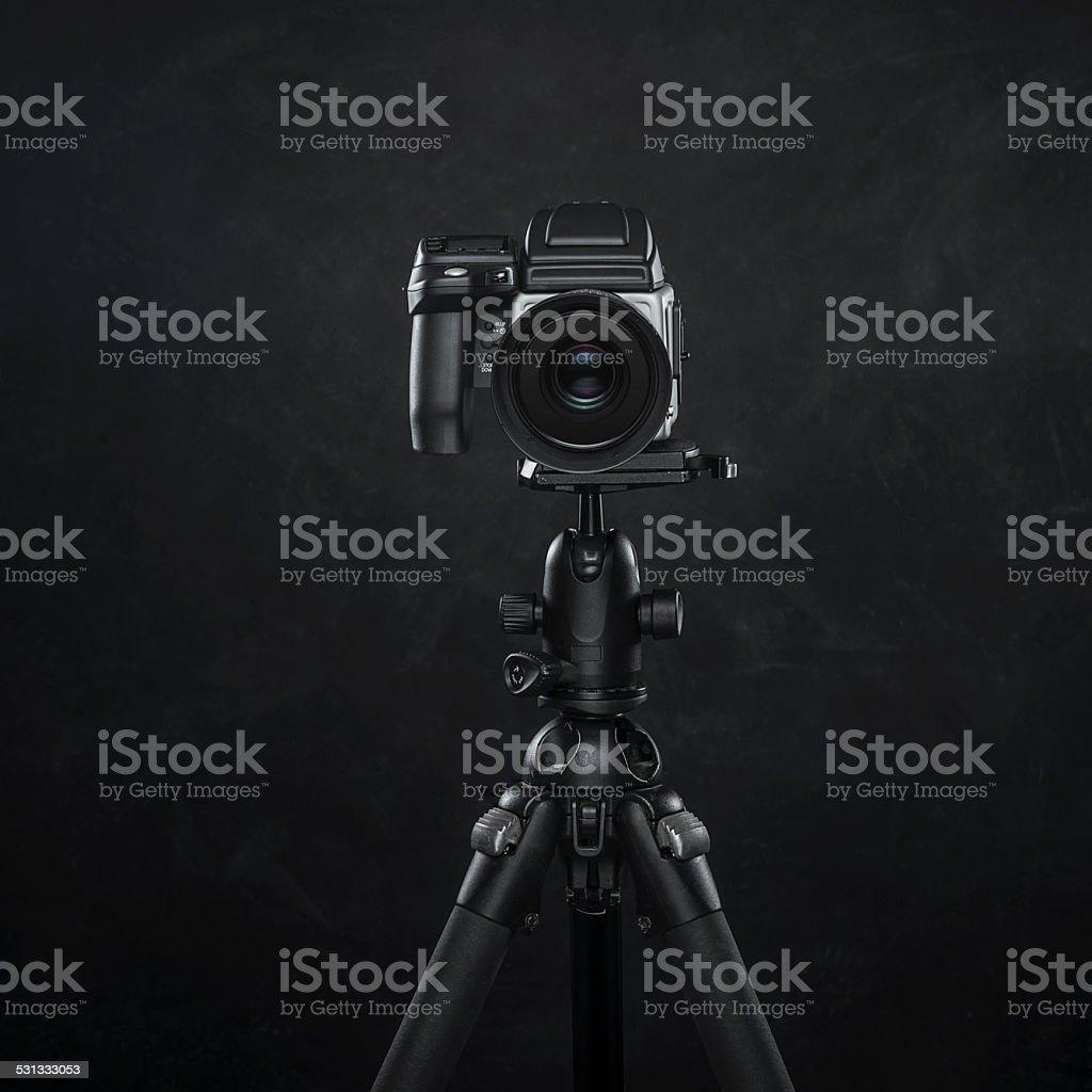 Medium Format Digital Camera stock photo