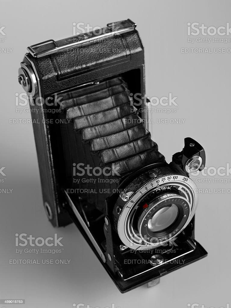 Medium Format Kodak Camera stock photo