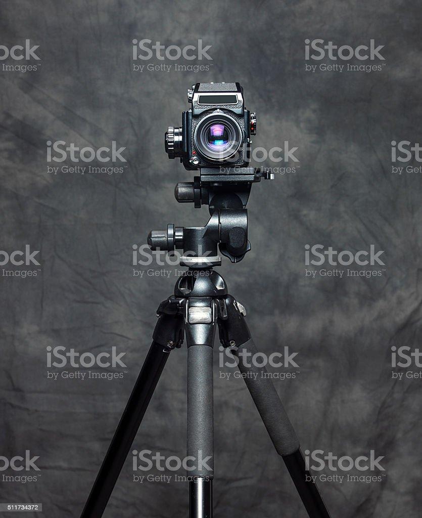 Medium Format SLR Camera stock photo