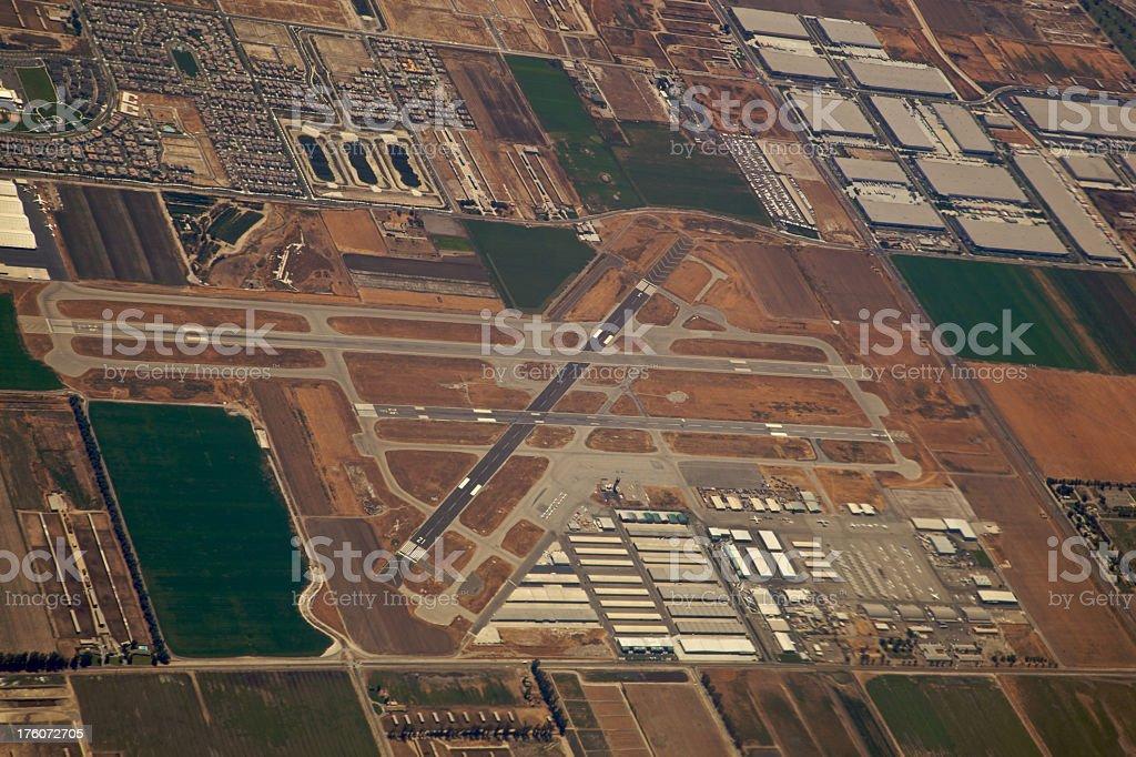 Medium Sized Airport in Chino, CA XXXL stock photo