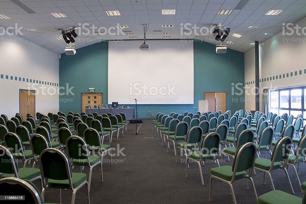 Medium Sized Conference Room 02 royalty-free stock photo