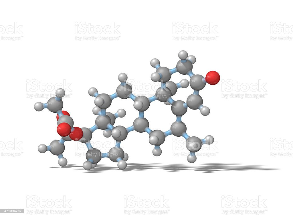Medroxyprogesterone Acetate stock photo