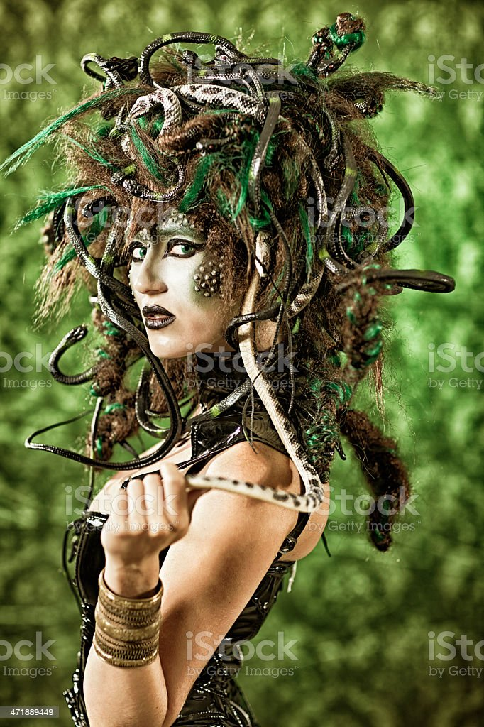 Medusa stock photo
