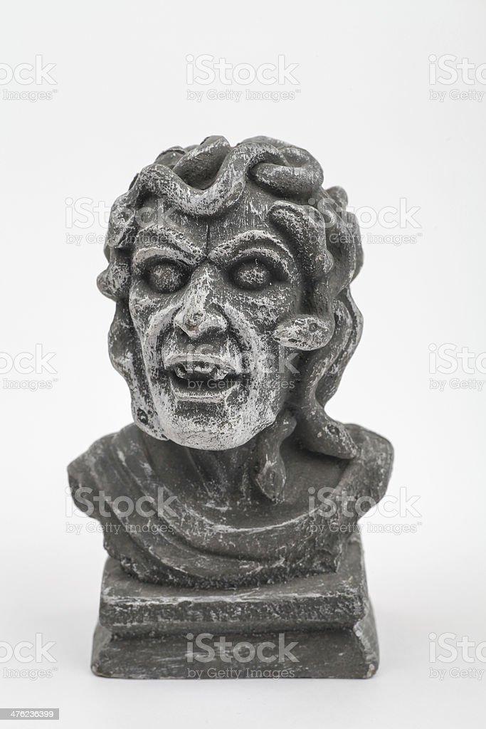 Medusa Statue royalty-free stock photo