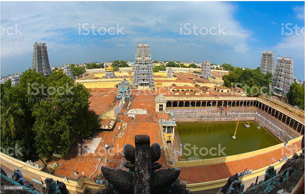 Meenakshi Amman Temple, Madurai stock photo