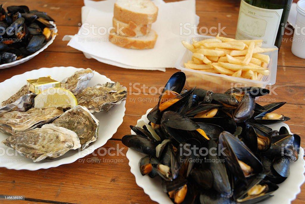 Meeresfrüchte Lizenzfreies stock-foto