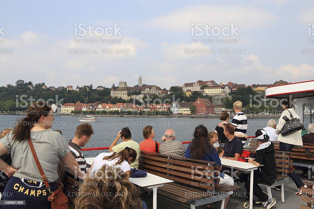 Meersburg at Lake Constance stock photo