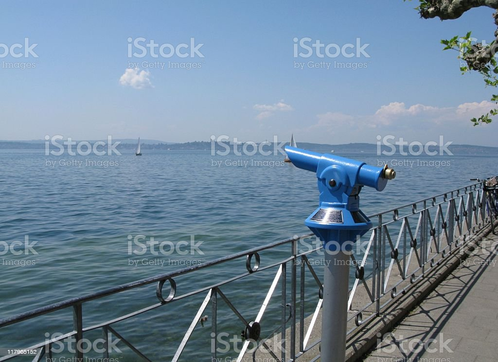 Meersburg am Bodensee royalty-free stock photo