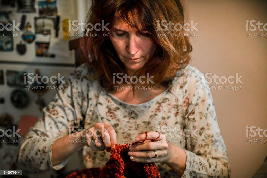 Meet the Handloom Weaver stock photo