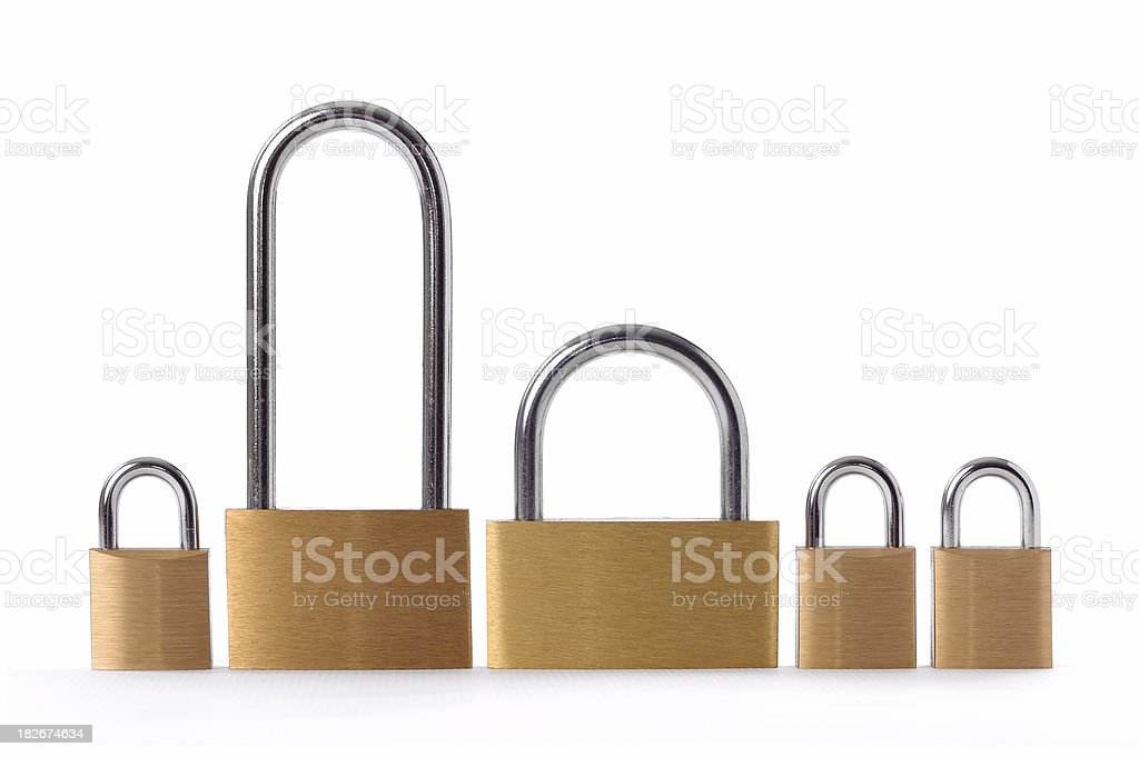 meet the lockers royalty-free stock photo