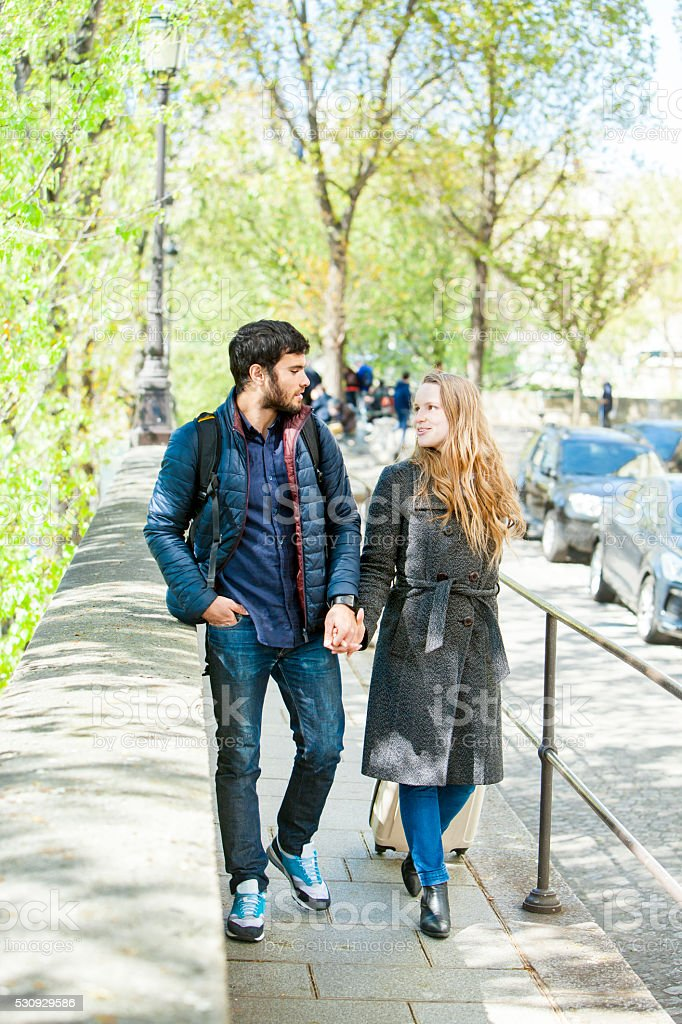 Meeting After Long Time: Long Distance Relelationships stock photo