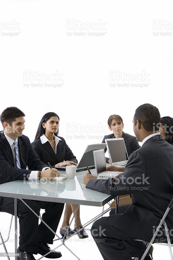 Meeting basics royalty-free stock photo