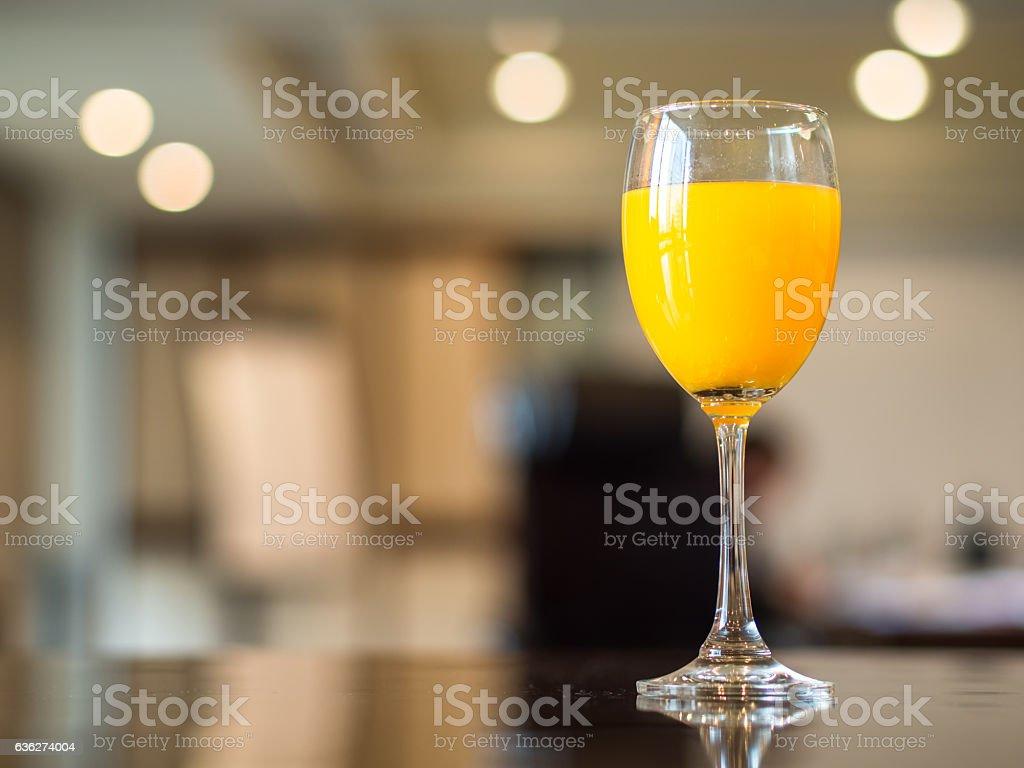 Meeting break with fresh orange juice, stock photo