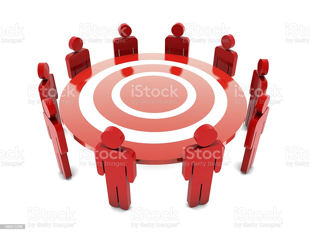 Meeting Concept royalty-free stock photo