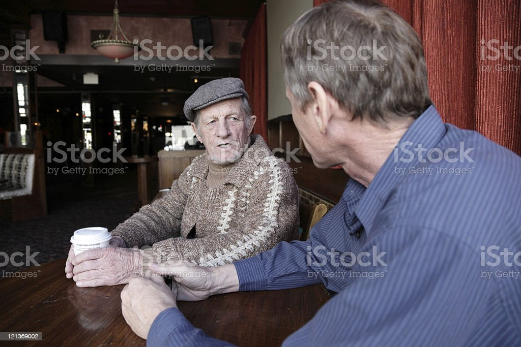 Meeting for Coffee royalty-free stock photo