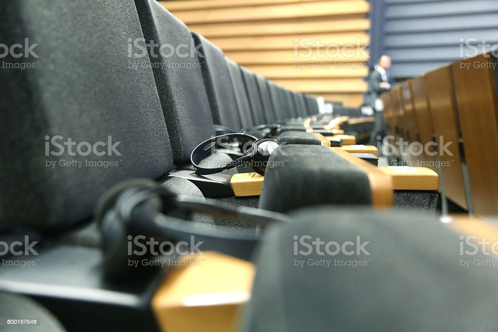 Meeting Hall stock photo