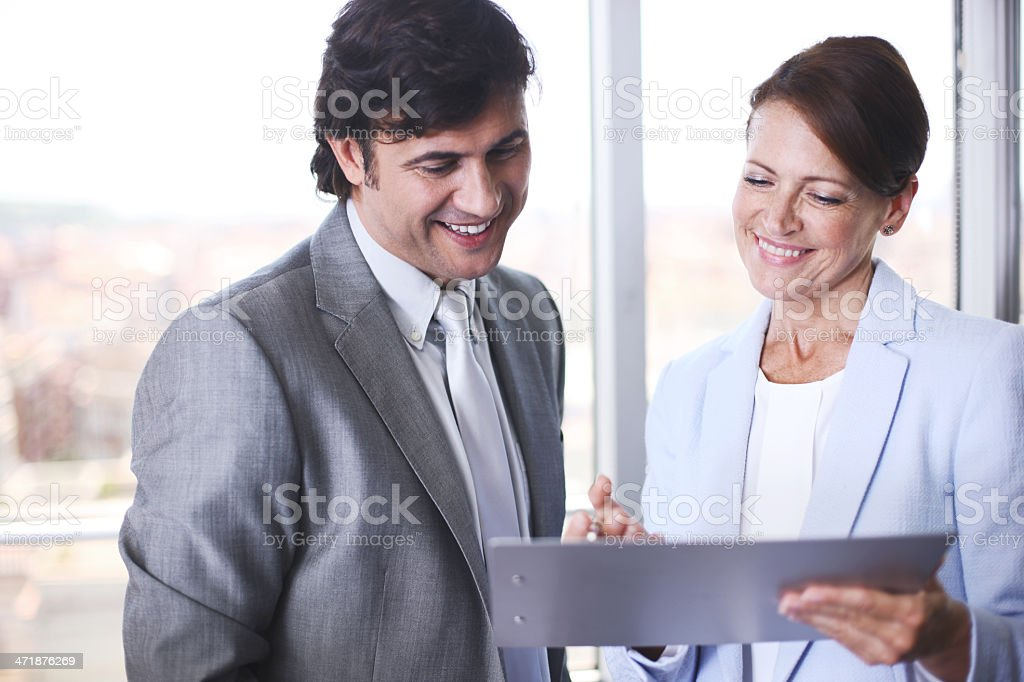 CEO meeting in the board room. royalty-free stock photo