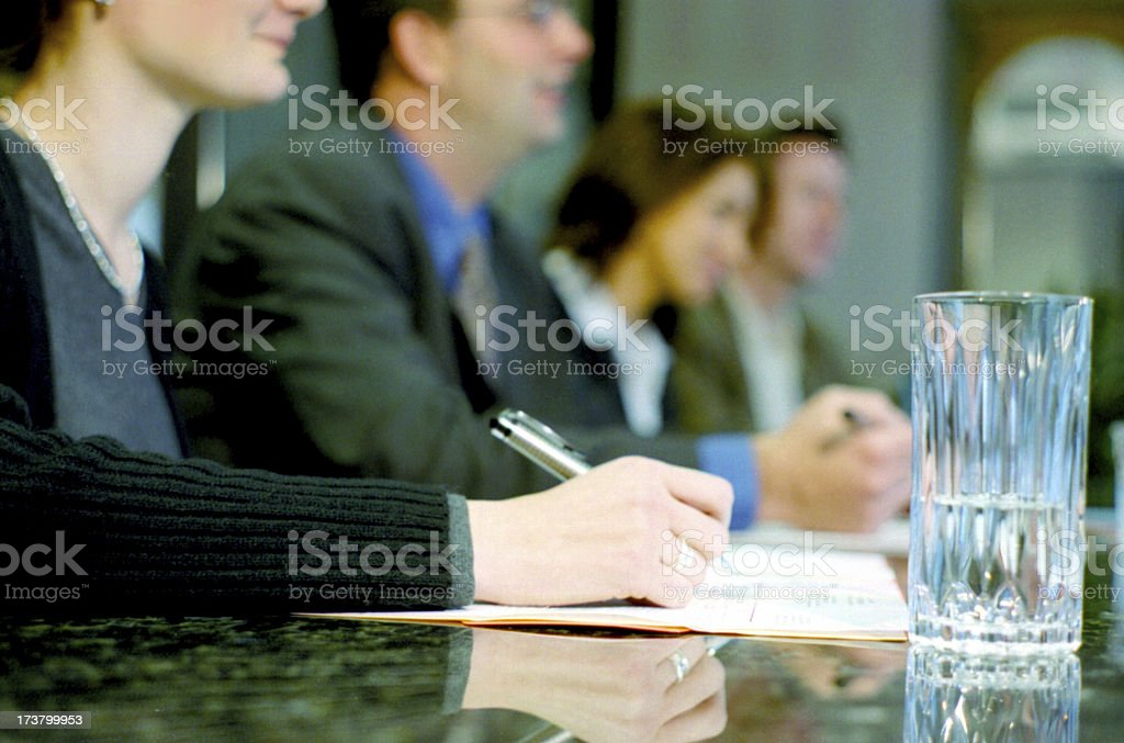 Meeting royalty-free stock photo