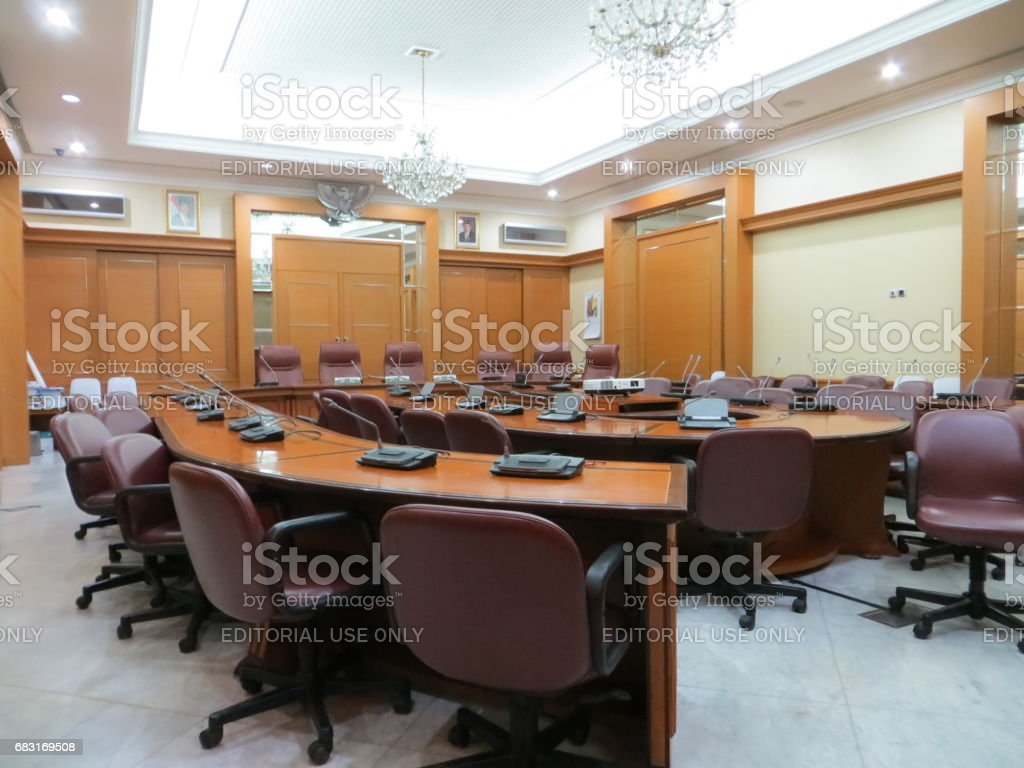 Meeting room at Jakarta City Hall.