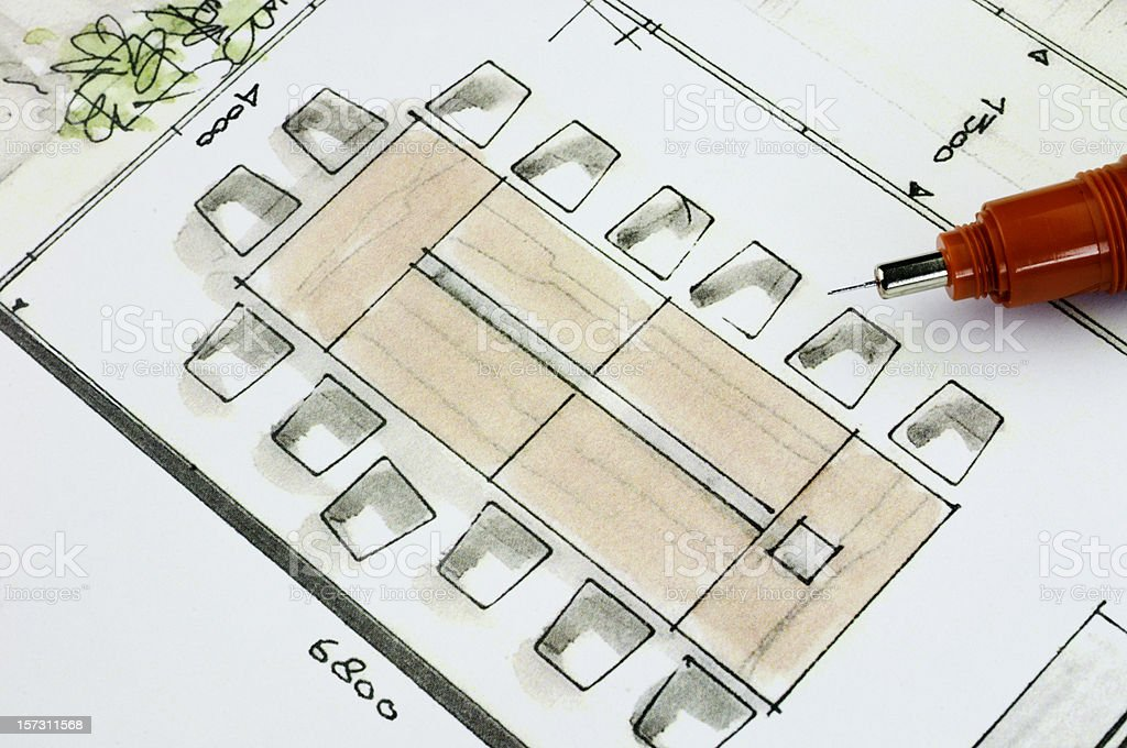 Meeting Room Concept stock photo