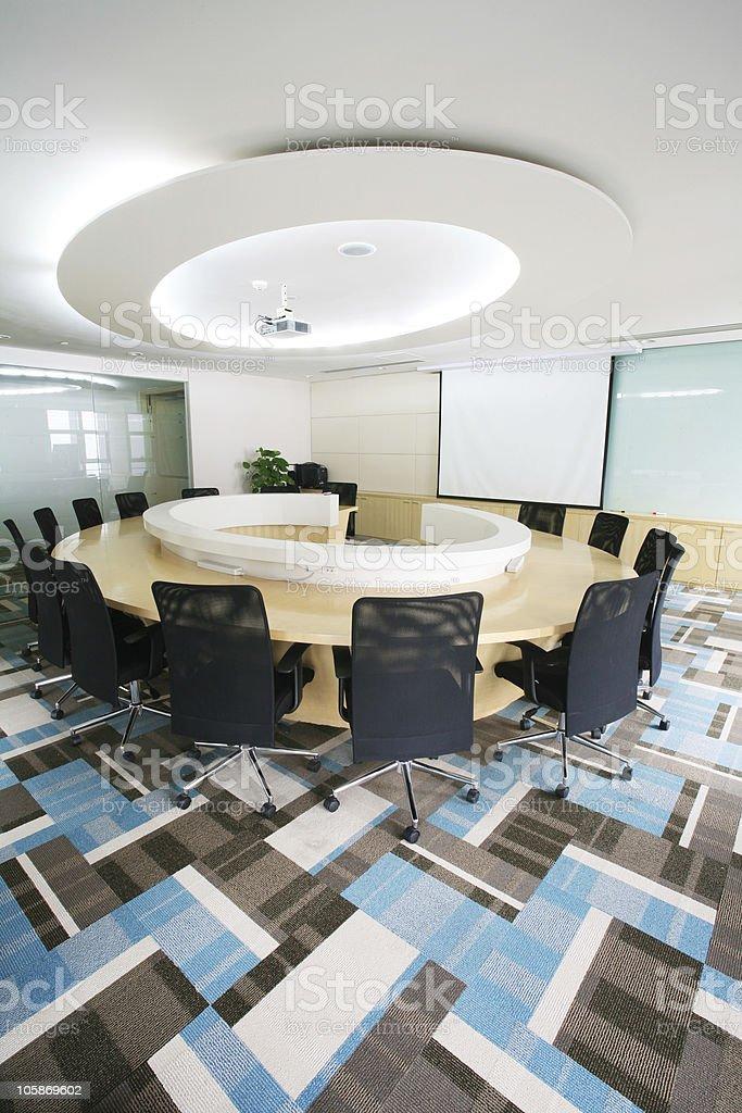 meeting room royalty-free stock photo
