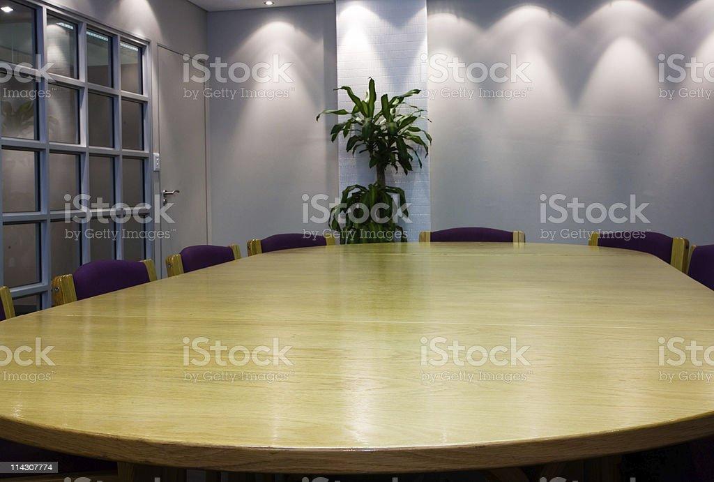 Meeting room (XLarge) royalty-free stock photo