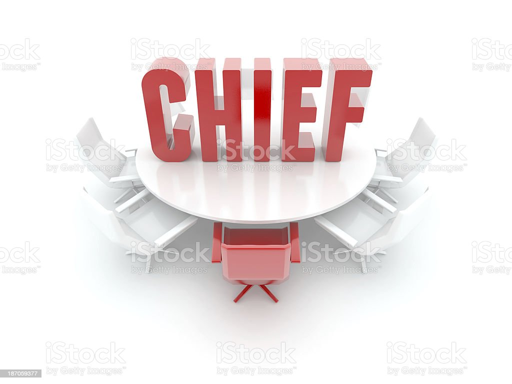 Meeting Room (chief word) royalty-free stock photo