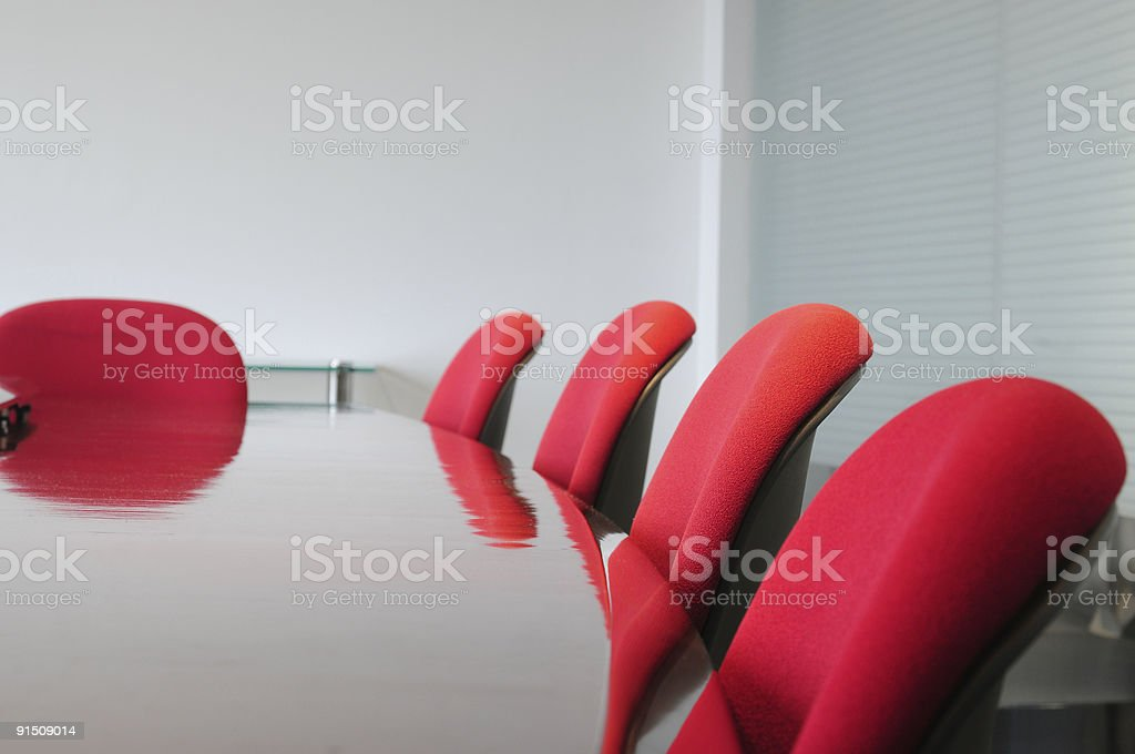 Meeting room. royalty-free stock photo