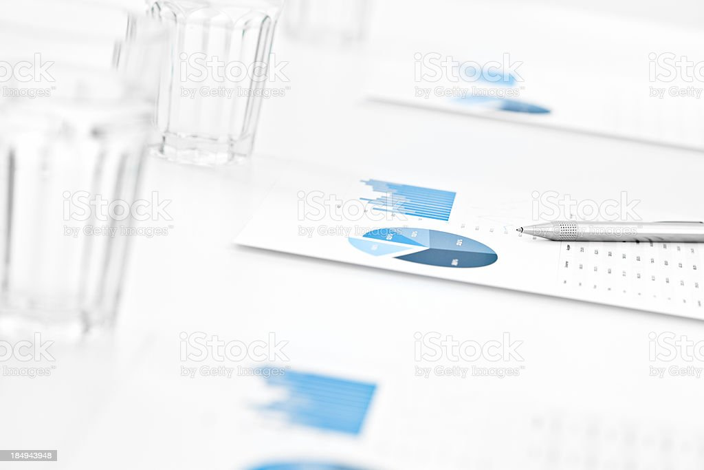 Meeting Situation royalty-free stock photo