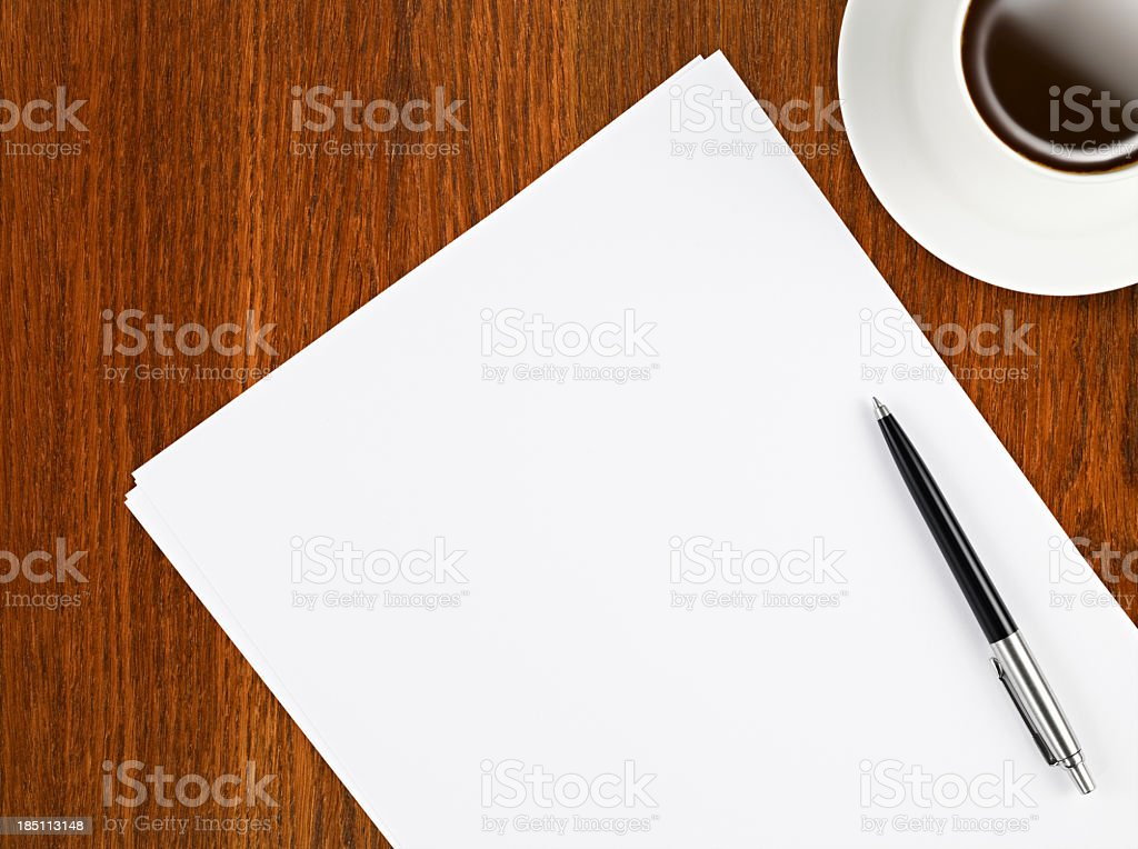 Meeting Table royalty-free stock photo