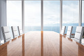 Meeting Table With Beautiful View