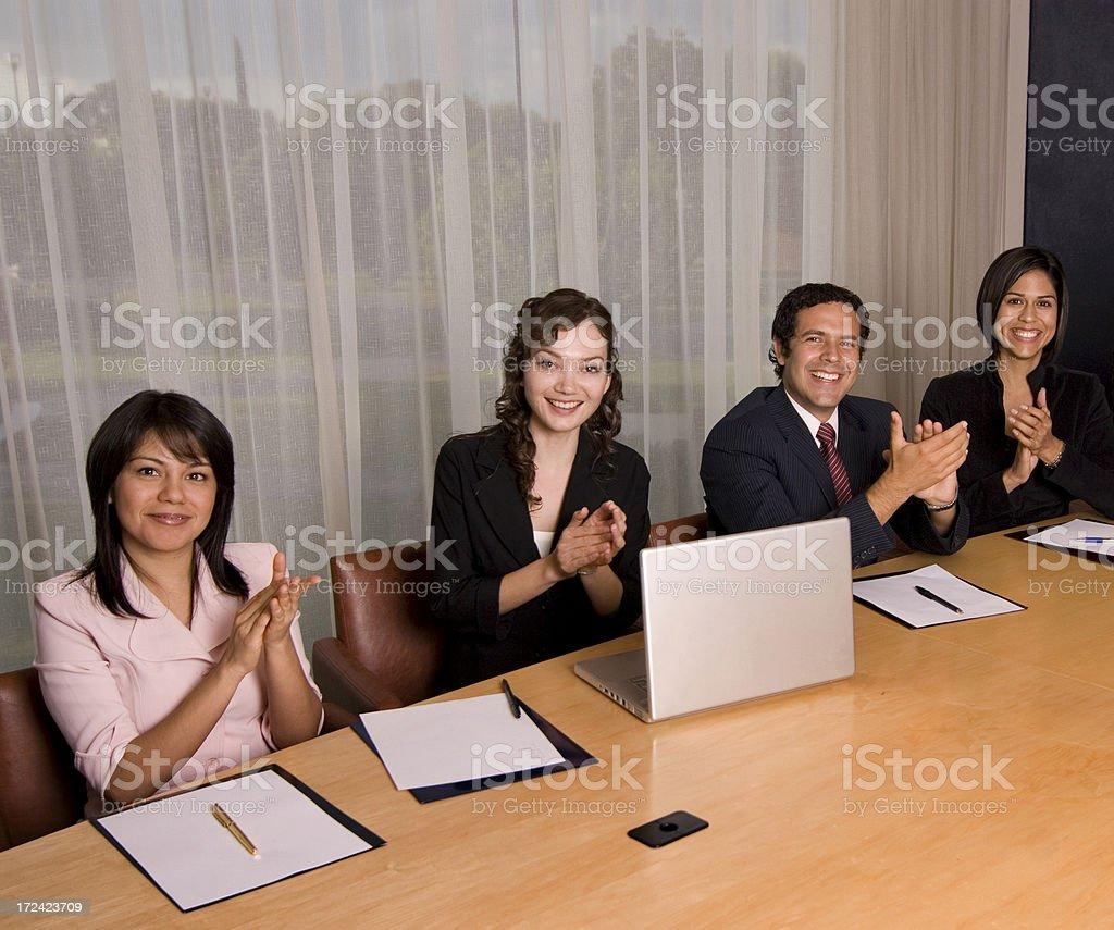 Meeting work royalty-free stock photo