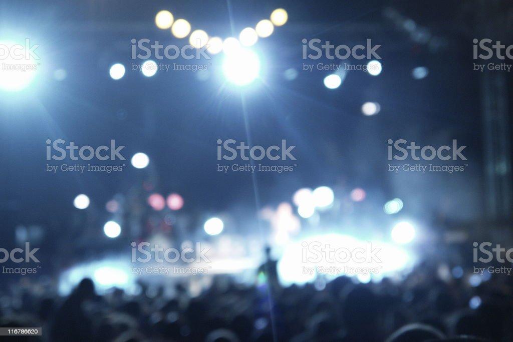 Mega Concert stock photo
