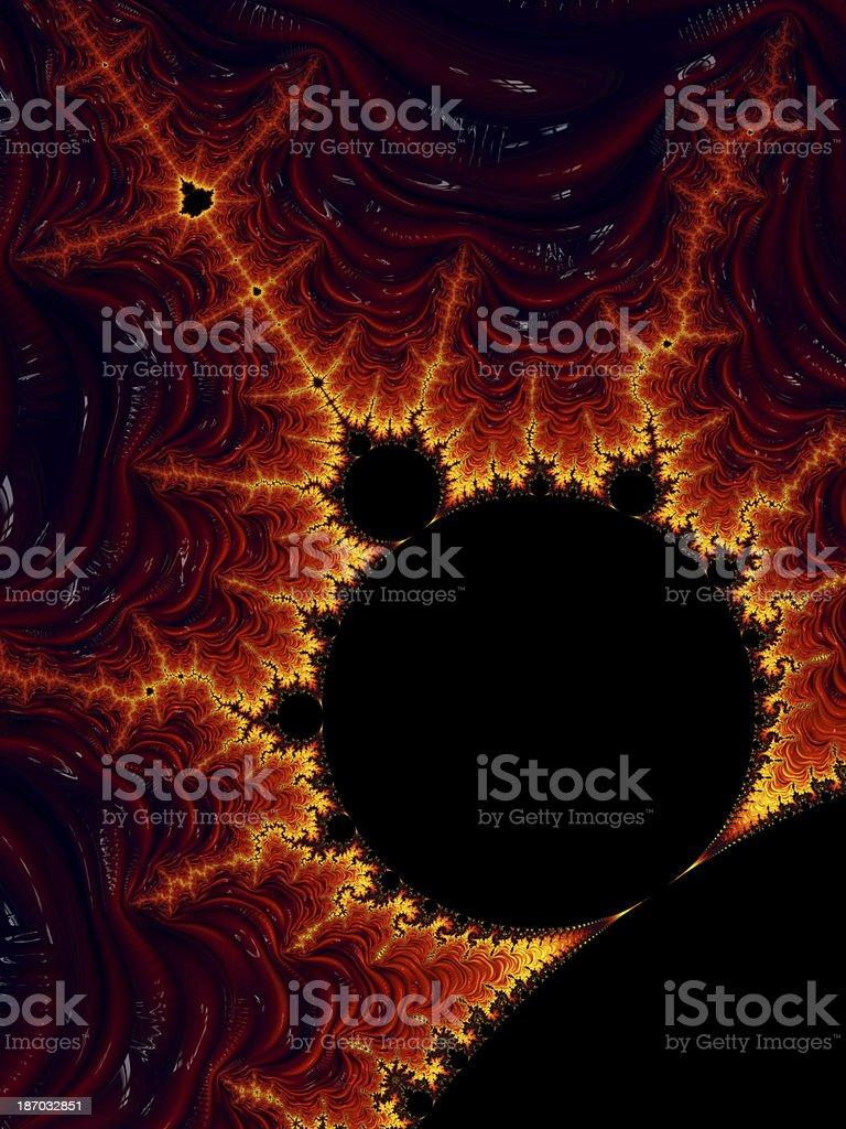 Mega Fractal Mandelbrot stock photo