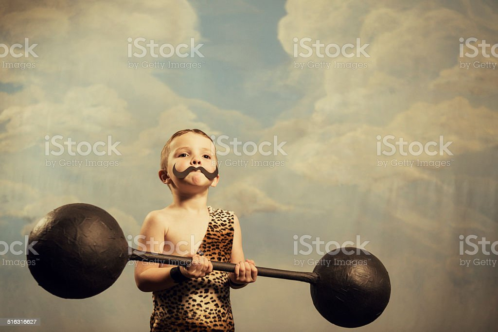 Mega Muscles stock photo