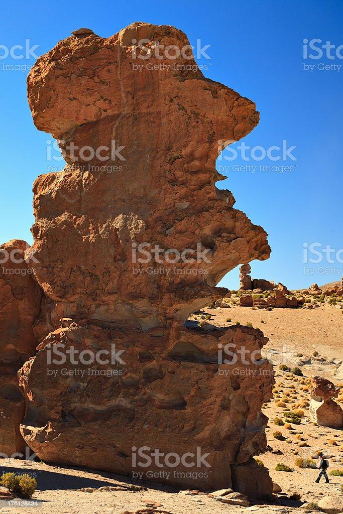Mega Rock royalty-free stock photo